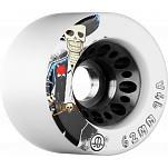 Rollerbones Day pf the Dead Speed wheel 62mm x94a White 4 Pk