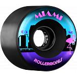 Rollerbones Outdoor Miami Wheel 65mm 80a 8pk Blk