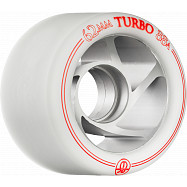 Rollerbones Turbo Wheel Clear Aluminum Hub 62mm 88a 8pk Natural