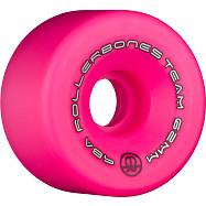 Rollerbones Team Logo 62mm 98A 8pk Pink