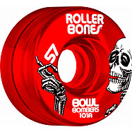 Rollerbones Bowl Bombers Wheels 57mm 101A 8pk Red