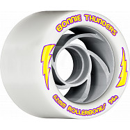 Rollerbones Turbo Bonnie Thunders Signature Rollerskate Wheel 62mm 96A White 8pk