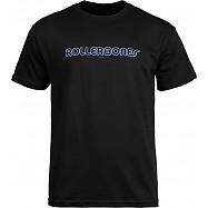 Rollerbones Men's Neon T-shirt Black