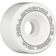 Rollerbones Art Elite Competition Wheels 62mm 101A 8pk White