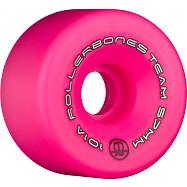 Rollerbones Team Logo 57mm 101A 8pk Pink