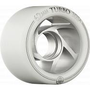Rollerbones Turbo Blem Wheel Clear Aluminum Hub 62mm 101a 8pk Natural