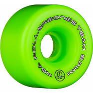 Rollerbones Team Logo 57mm 98A 8pk Green