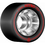Rollerbones Nitro Wheel 59mm x 92a 8pk Black