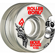 Rollerbones Bowl Bombers Wheels 57mm 103A 8pk Clear
