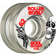 Rollerbones Bowl Bombers Wheels 62mm 101A 8pk Clear