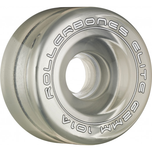Rollerbones Art Elite Competition Wheels 62mm 101A 8pk Clear