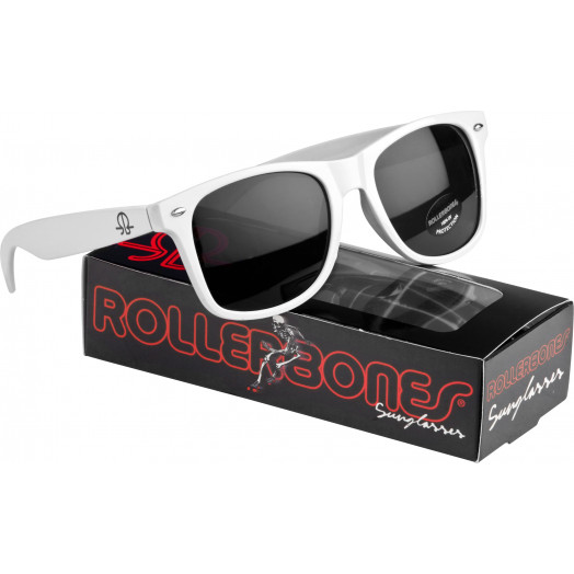 Rollerbones Sunglasses White