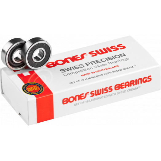 Bones® Swiss Bearings 7mm 16 pack