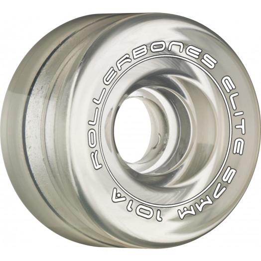 Rollerbones Art Elite Competition Wheels 57mm 101A 8pk Clear