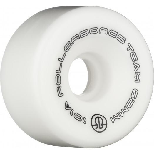 Rollerbones Team Logo 62mm 101A 8pk White