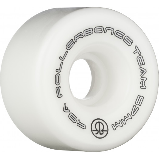 Rollerbones Team Logo 57mm 98A 8pk White
