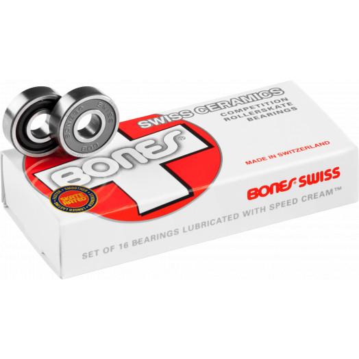 Bones® Swiss Ceramic Bearings 8mm 16 pack